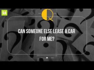 looking for a Lease vehicle