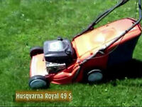 husqvarna lawn mower