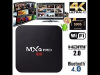Android Box kodi 16.1 Mxq Pro New Quad Core Android 5.1 2.4G wifi MXQ pro TV Box