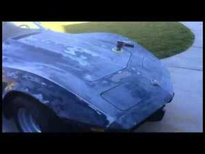 1975 Corvette Project or parts car needs restoration.