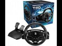 Ps4 steering wheel. Thrustmaster T80