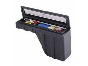 Wheel well tool boxes for smaller pickup