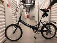 Extremely mint conditioned foldable bike from Raleigh. Available for collection ONLY