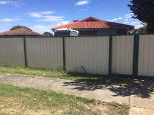 Corrugated Iron Fence Endeavour Hills Casey Area Preview