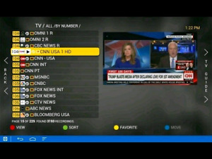 We sell Android boxes Live TV Channels IPTV ( Africa  belgium