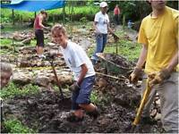 Organic gardening project in Argentina
