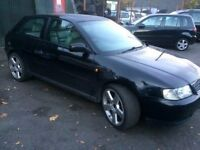 Audi A3 long MOT petrol manual full leather