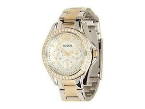 b790d0c9a Womens Fossil Watch Gold and Silver · Fossil Rose ...