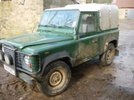 Wanted Land Rover Defender any age 90/110