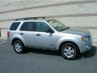 2008 FORD ESCAPE XLT 4X4 SUV,  LOOKS AND RUNS GREAT
