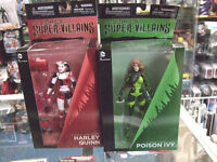 DC COMICS Super-Villains HARLEY QUINN ACTION et POISON IVY