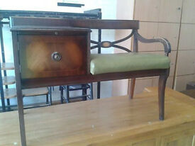 Antique telephone table (delivery available)