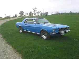 1968 Ford Mustang Coupe 302 v8 automatic. Turn key Muscle Car.