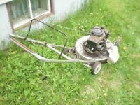 OLD CRAFTSMAN LAWN MOWER for parts only