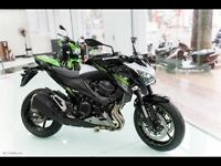 Kawasaki Z800. PRACTICALLY NEW