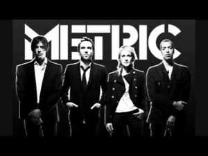 METRIC + JULY TALK x1 x2 x3 x4 ~ DIMANCHE LE 5 MAI 18h50