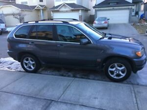 """STEAL OF A DEAL"" 2002 BLUE BMW X5 4.4i SPORT"