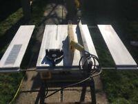 ryobi bench top table saw 110v