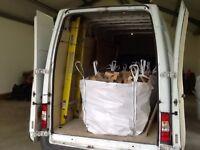 Blocks £55 hardwood seasoned and dry free delivery