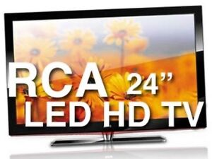 "RCA 24""  1080i  LED HD TV,  Mint Condition, New 2018 Model"