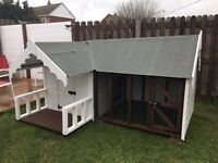 Dog Kennel and Run Brand New