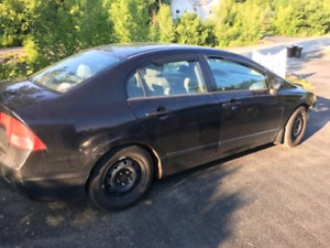 2005 Honda Civic with front end damage $1,000 OBO.