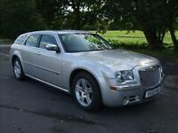 CHRYSLER 300C 3.0 V6 CRD AUTOMATIC TOU BRIGHT SILVER 2010 10 REG 5 DOOR ESTATE