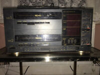 Amstrad Double decker VHS player recorder