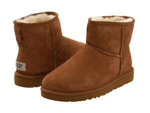 UGG CLASSIC MINI II - Boots - Chestnut (Size 9) - OBO