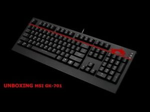 MSI gaming mechanic keyboard cherry brown switch