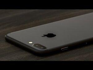 Brand New UNLOCKED iphone7 plus 128 gb Matted black