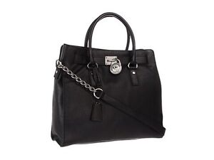 LOOKING FOR LARGE BLACK MICHAEL KORD HAMILTON TOTE