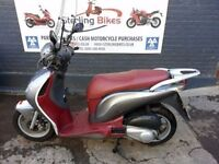 HONDA PS 125 2008 WITH WIND SCREEN IN GOOD CONDITION