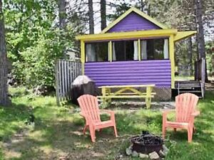 DON'T BE DISAPPOINTED! PURPLE COZY LAKE FRONT COTTAGE!