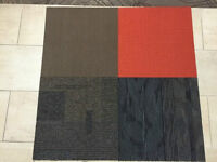 Discounted 65% off carpet tiles