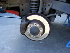 1997 Limited Toyota 4Runner front  brakes