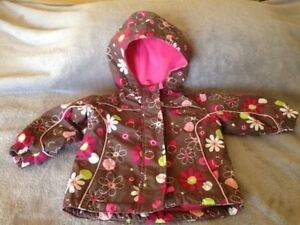 Baby girl Winter Jacket 12 months