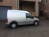 2003 silver transit connect 18 tdci lwb high roof moted