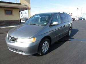 2002 Honda Odyssey or trade for camper