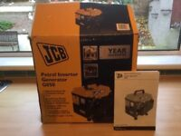 Generator JCB 850W 2 Stroke Petrol As New. Boxed with Instructions.