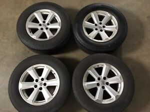 Toyota alloy wheels and 245/65R17