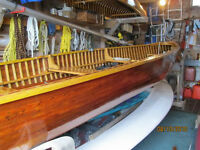 1948 LAKEFIELD CEDAR STRIP BOAT