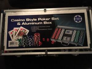 Poker Table/Chips