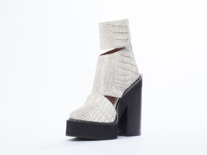 Jeffrey Campbell Feria Crocodile Boot