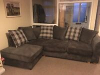 Corner Sofa - Large Grey