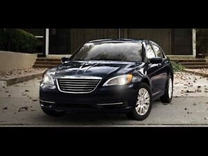 2012 CHRYSLER 200 LX ONE OWNER 155 thou kms