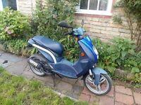 50cc Peugeot Ludix 12 MONTHS MOT