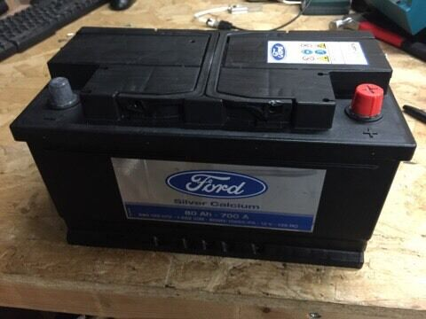 brand new genuine ford 12v 80ah 700a battery in ipswich suffolk gumtree. Black Bedroom Furniture Sets. Home Design Ideas