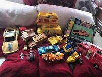 Box of assorted random cars.