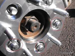 Wheel spacers 24mm MINT 5x108 volvo jaguar ford Windsor Region Ontario image 1